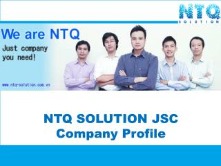 NTQ SOLUTION JSC Company Profile