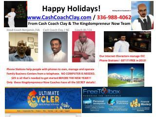 Head Coach Benjamin /VA     Cash Coach Clay / NC        Coach JB / CA