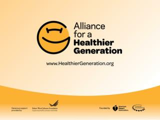 Beth Graham, MPH, CHES HealthierGeneration
