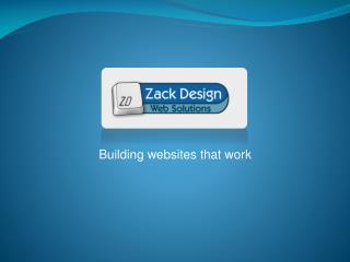 Building websites that work