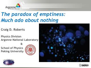 The paradox of emptiness: Much ado about nothing