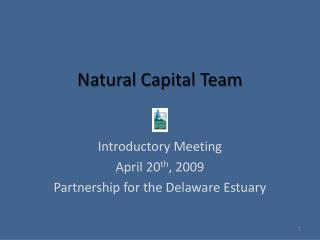 Natural Capital Team