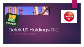 Delek  US Holdings(DK)