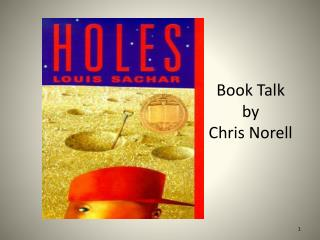 Book Talk by  Chris  Norell