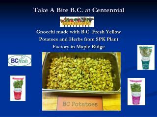 Take A Bite B.C. at Centennial