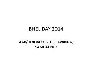 BHEL DAY 2014