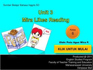 Sumber Belajar Bahasa Inggris  SD