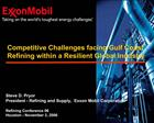 Steve D. Pryor President - Refining and Supply,  Exxon Mobil Corporation  Refining Conference 06 Houston - November 3, 2