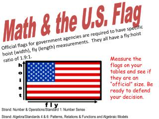 Math & the U.S. Flag