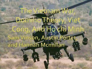 Sam Vinson, Austin Porter, and Hannah  Mcmillan