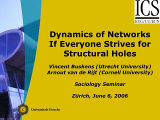 Importance of Dynamic Networks