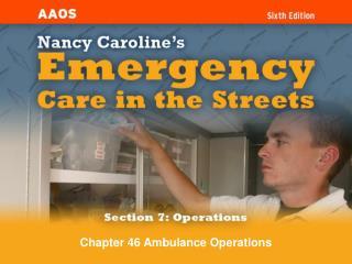 Chapter 46 Ambulance Operations