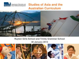 Studies of Asia and the  Australian Curriculum
