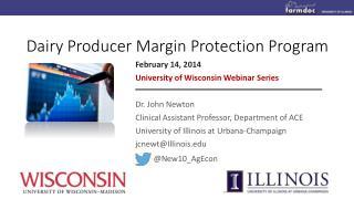 Dairy Producer Margin Protection Program