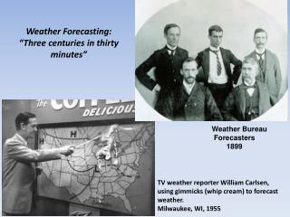 Weather  Bureau  Forecasters 1899