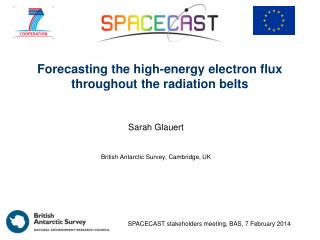 Forecasting the high-energy electron flux throughout the radiation belts