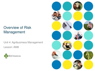 Managing Contract  Counterparty Risks