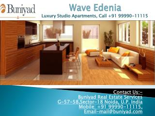 Multiuse Studio Apartments for Sale in Wave Edenia