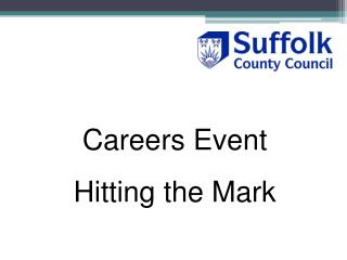 Careers Event Hitting the Mark
