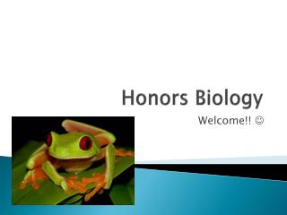 Honors Biology