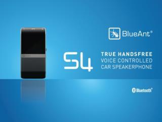 S4: The First True Hands-Free Car Speakerphone