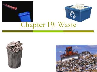 Chapter 19: Waste