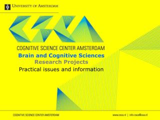 Brain and Cognitive Sciences Research Projects