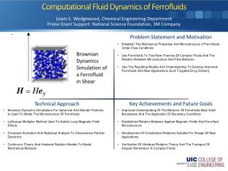 Computational Fluid Dynamics of  Ferrofluids