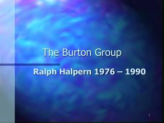 The Burton Group