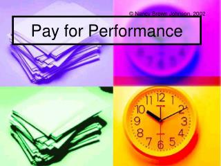 Pay for Performance
