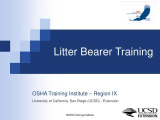 Litter Bearer Training