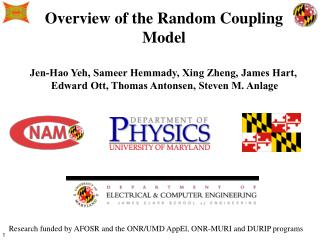 Overview of the Random Coupling Model