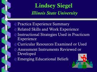 Lindsey Siegel Illinois State University