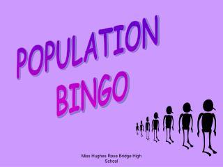 POPULATION  BINGO