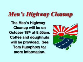 Men�s Highway Cleanup