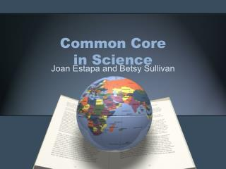 Common Core  in Science