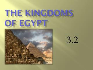 The Kingdoms of Egypt