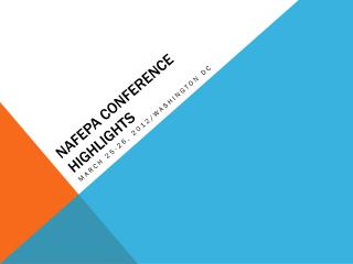 NAFEPA Conference highlights