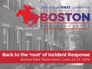 Don't Panic! Case Studies of Incident Response from the Field