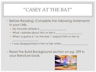 """Casey at the Bat"""
