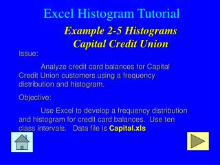 Excel Histogram Tutorial