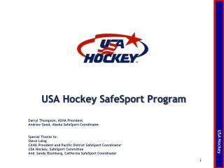USA Hockey SafeSport Program