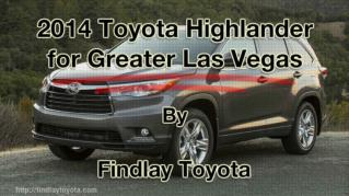 ppt 41972 2014 Toyota Highlander for Greater Las Vegas
