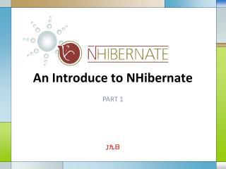An Introduce to NHibernate