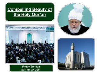 Friday Sermon 25 th  March 2011