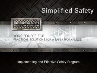Simplified Safety