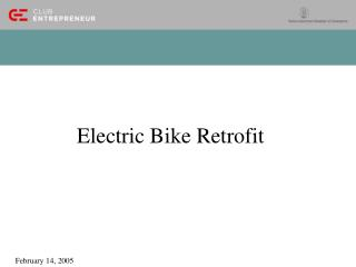 Electric Bike Retrofit