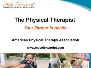 American Physical Therapy Association moveforwardpt