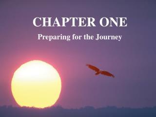 Preparing for the Journey