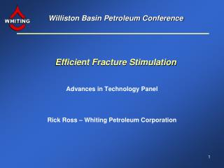 Williston Basin Petroleum Conference